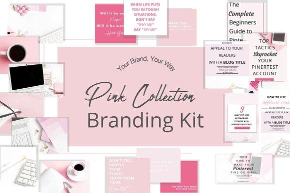 Blush Pink Branding Kit