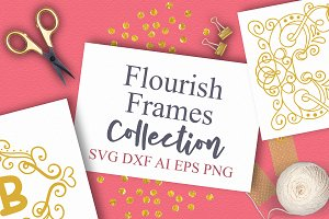 15 Flourish Frames Collection
