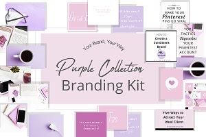 Purple Branding Kit
