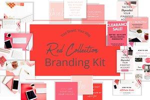 Red Branding Kit