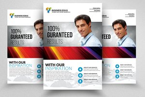 HR Consulting Flyer Templates