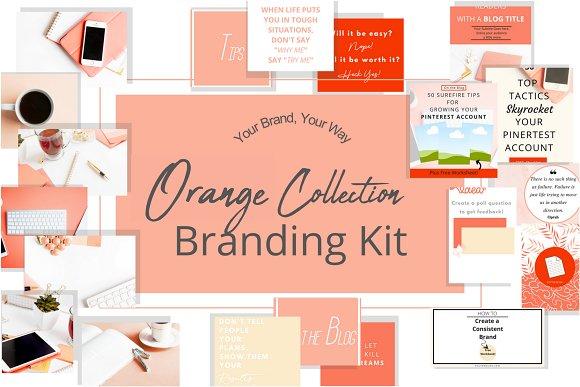 Orange Branding Kit