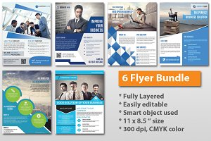 Corporate Flyer Bundle - 6 flyer-V67