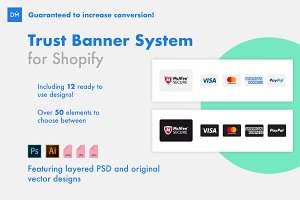 Trust Banners for Shopify