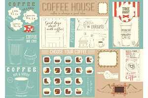 Coffee Menu Placemat Template