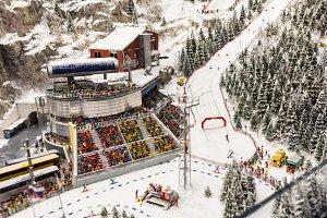 Ski stadium Grand Museum Museum - the city of St. Petersburg.