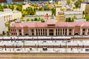 The main railway station The Grand-Mock Museum is the city of St. Petersburg.
