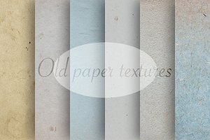 Old natural paper textures