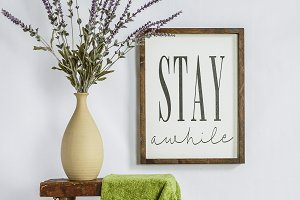 Wood Sign Home Decor