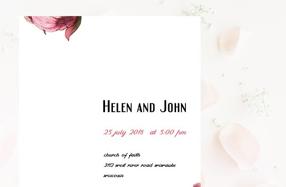 Wedding Invitation Suite-Easy Touch