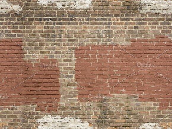 Seamless grungy brick background.