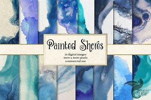 Painted Shores Liquid Paint Textures