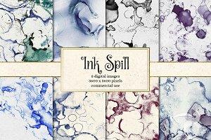 Ink Spill Textures