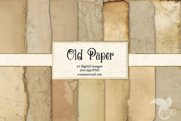 Old Paper Grunge Textures