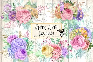 Spring Floral Bouquets