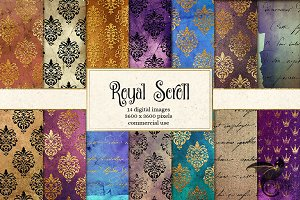 Royal Scroll Backgrounds