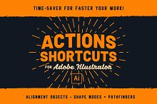 Illustrator | Ai Actions Shortcuts