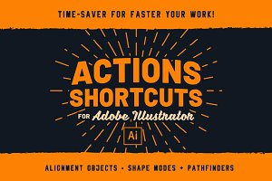 Illustrator | Ai Actions Shortcuts