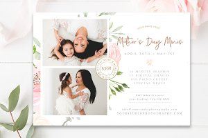 Mommy & Me Mini Session Template