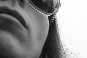 Sunglasses Selfportrait Black White