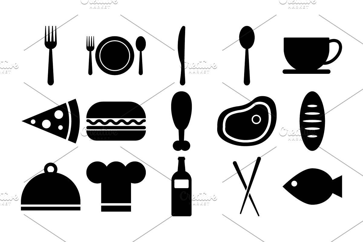 15 Restaurant Icons