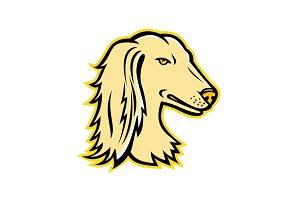 Saluki or Persian Greyhound Mascot