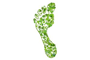 eco green footprint