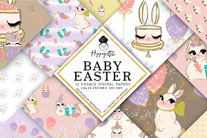 Easter patterns,bunny patterns