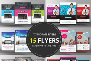 15 Idea Attack - Corporate Flyers