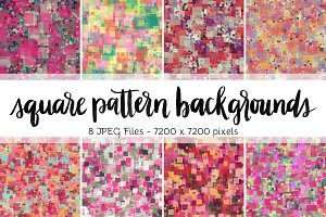 Square Pattern Backgrounds Volume 3