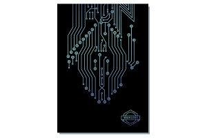 computer chip poster design