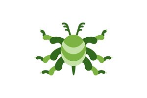 green virus color icon