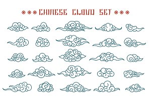 Chinese clouds set
