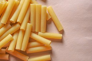 macaroni pasta food background