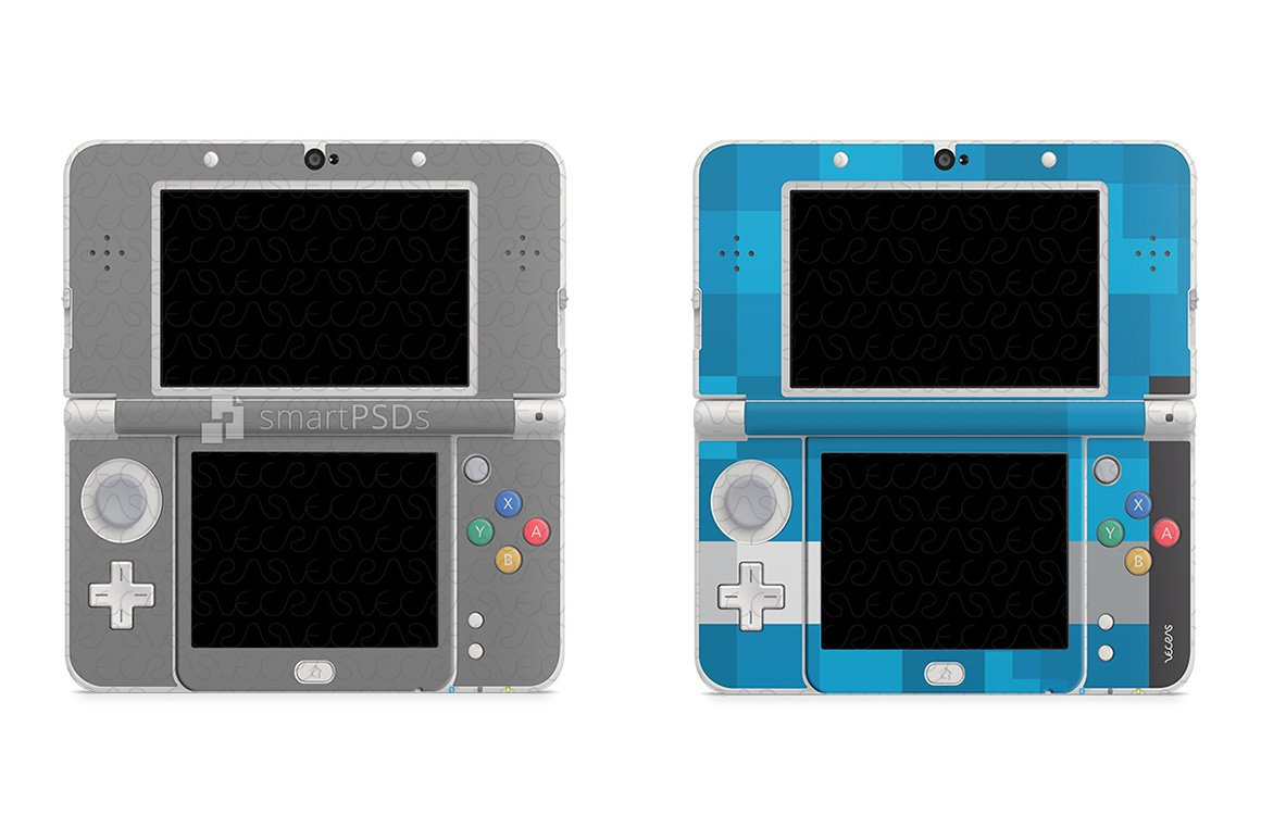 Nintendo 3DS 2015 Skin Decal Design ~ Product Mockups ~ Creative Market