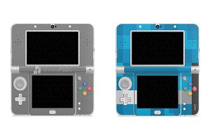 Nintendo 3DS 2015 Skin Decal Design
