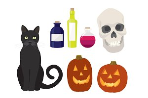Halloween Vector Illustrations