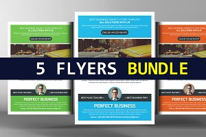 5 Business Essential Corporate Flyer