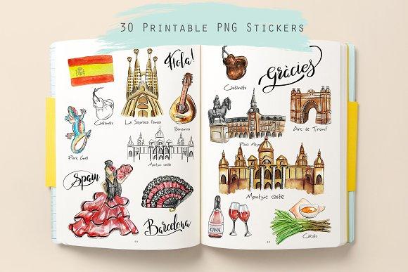 Travel Spain Clipart