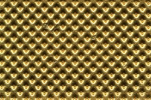 embossed gold metal texture background