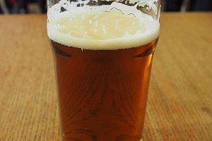 british ale beer pint