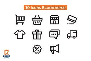 10 Icons Ecommerce