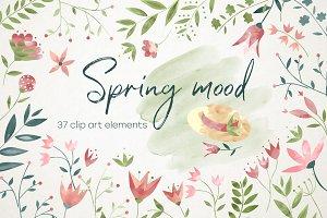Spring mood 37 elements