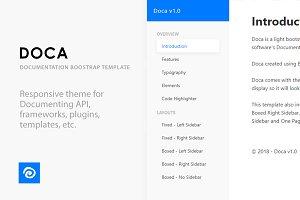Doca - Documentation Template
