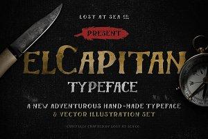El Capitan – Handdrawn Font + Bonus