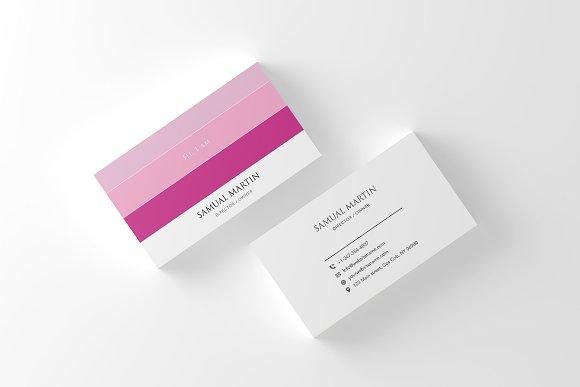 Beautiful Colours Modern Card