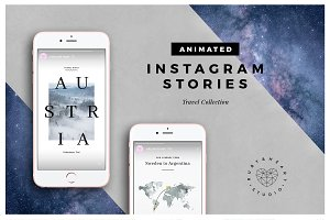 ANIMATED Travel Instagram Stories