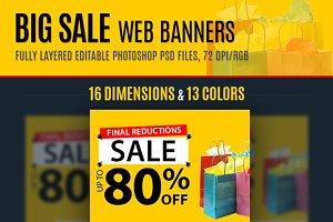 Big Sale Web Banners