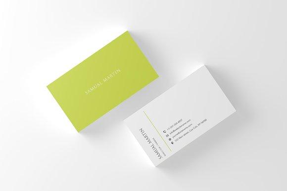 Beautiful Simple Classy Card