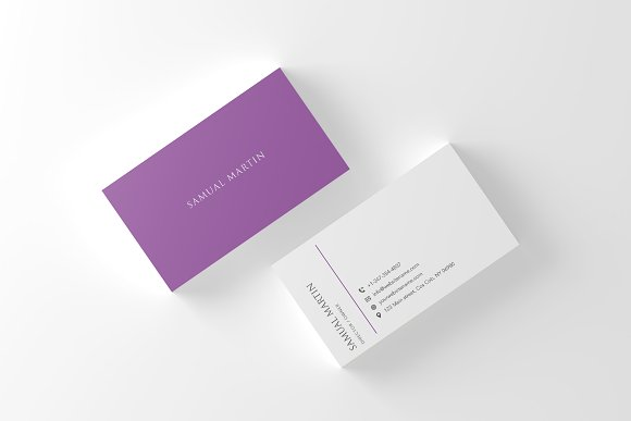 Beautiful Simple Classy Card